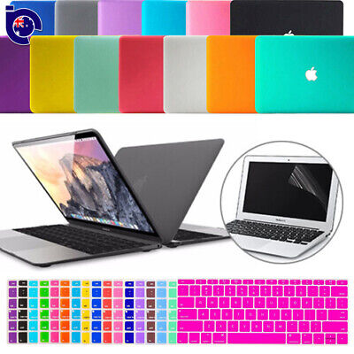 "Matte Hard Case/Keyboard Skin/Screen Protector for MacBook Air Pro 11""13""15 Inch"