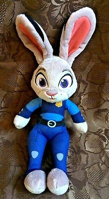 """Disney Talking Hop from Zootropolis Soft Toy ~ 15"""" ~ Rare ~ Collectable"""