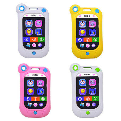 Kids Phone Baby Educational Simulation Music Mobile Toy Touch Screen Phone BB