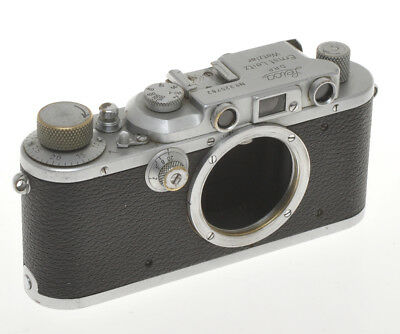 Ernst Leitz Leica III chrome n.325782 1939 exc++ not in working order