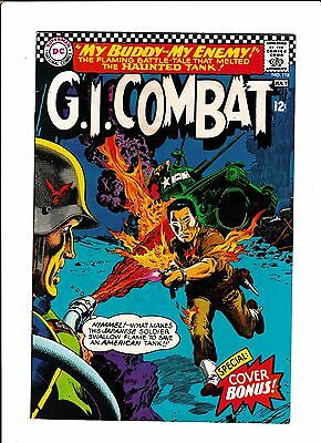 G.i. Combat #118  [1966 Vg+]  Awesome Flamethrower Cover!