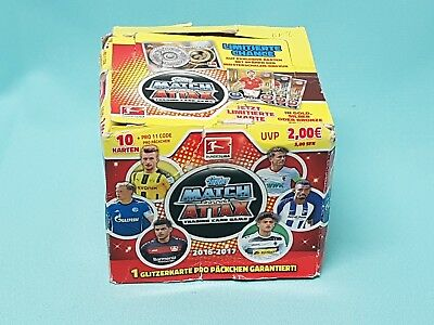 Topps Match Attax 2016/2017 1 x Display / 50 Booster 500 Sammelkarten 16/17