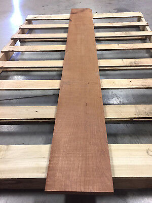 "Mesquite 4/4 Exotic Wood Lumber 1"" x 8-3/4"" x 74-1/8"", KD"