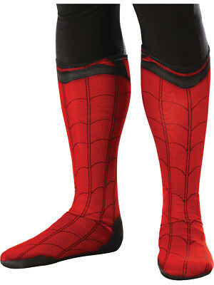 Childu0027s Spider-Man Homecoming Boot Tops Costume Accessory  sc 1 st  PicClick & SPIDER-MAN HOMECOMING SPIDERMAN Child Costume Boot Tops - $9.99 ...