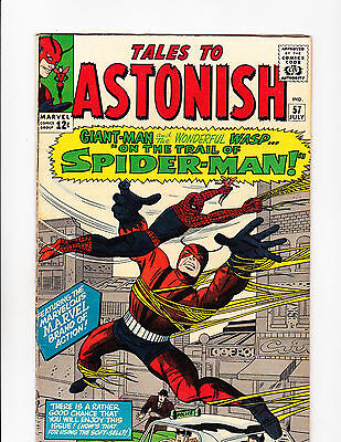 Tales To Astonish  No.57   : 1964 :   : Early Spider-Man X-Over! :