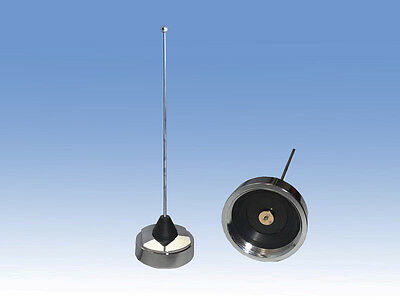 1/4 WAVE 2 Meter 220 440 Nmo Mobile Antenna  With Cutting Chart