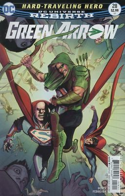 Green Arrow (5th Series) #28A 2017 FN Stock Image