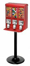 Triple Shop Gumball & Candy Machine - RED