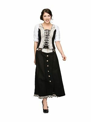 Stockerpoint Traditional Skirt Giada 93cm Black