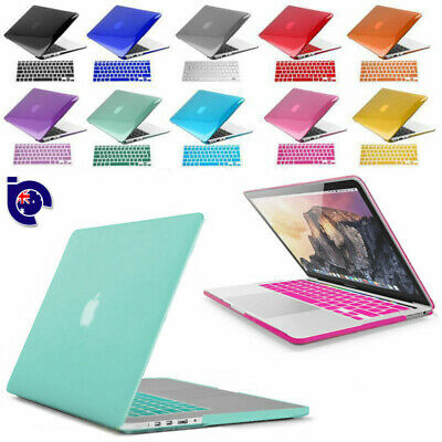 "Rubberized Hard Shell Case f Mac Macbook AIR 13"" Keyboard Cover Screen Protector"