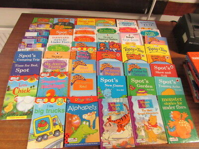 50 Assorted Ladybird Books For Toddlers And Young Readers Hardback Gloss Good