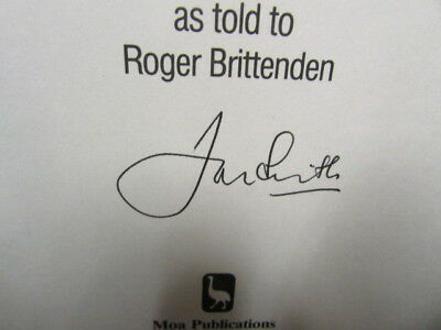 *Signed By Ian Smith* Smithy Just A Drummer In A  Band Roger Brittenden Hb Vgc