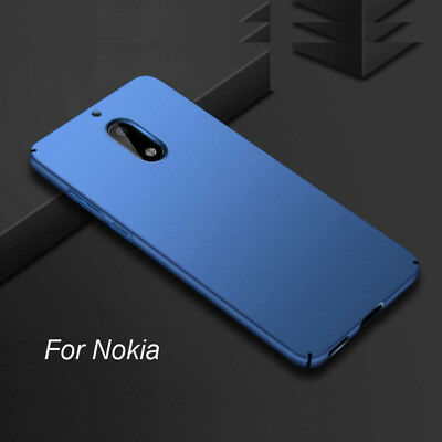 Luxury 360° Protection Hard Shell Slim Frosted Shield Case Cover For Nokia 5 6 8