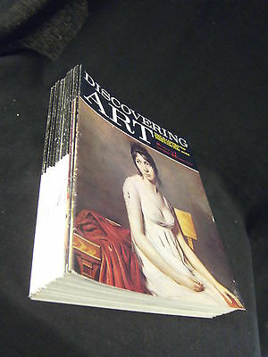 29 Selection Of Vintage Discovering Art Magazines: Fabbri/Purnell