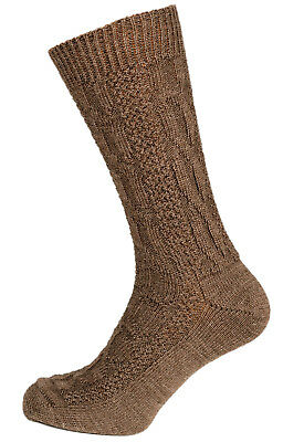 Schuhmacher Traditional Costume Socks CS527 Braun