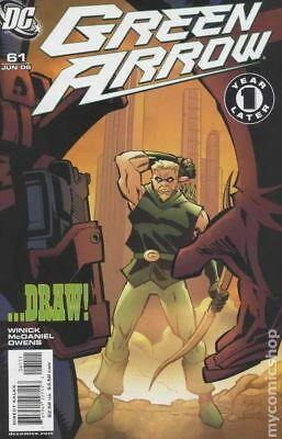 Green Arrow (2nd Series) #61A 2006 NM Stock Image