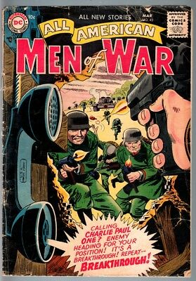 All American Men Of War #43-1957-Wwii-Dc-Silver Age G