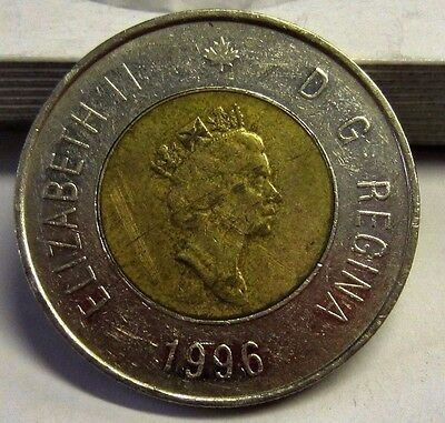 1996 $2 Canadian Planchet Canada 2 Dollars