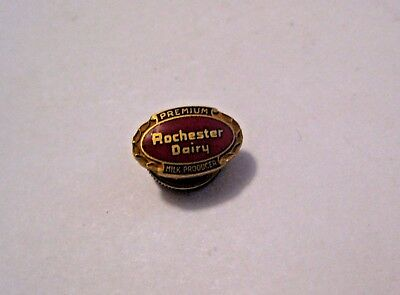 Vintage Rochester Dairy Premium Milk Products Advertising Pin ~ See All Our Pins