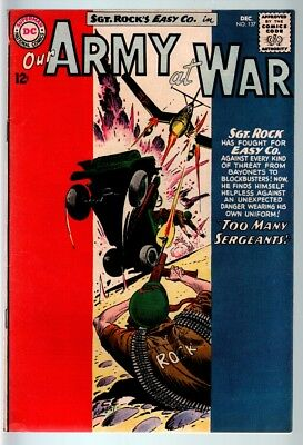 Our Army At War #137 1963-Dc War Comic-Sgt. Rock-Fn/vf Fn/vf