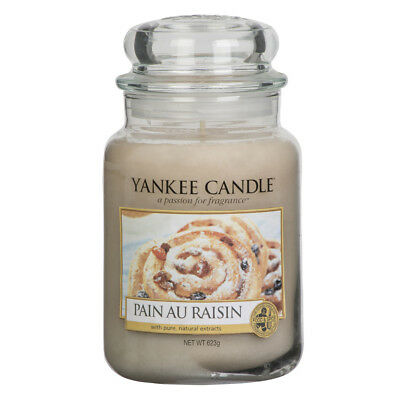 Yankee Candle Pain Au Raisin Grosses Glas 623 g