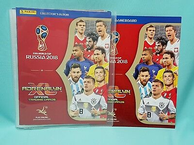 Panini Adrenalyn XL World Cup Russia 2018 Mappe Sammelmappe WM Cards Neu