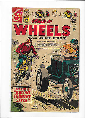 "World Of Wheels #18  [1967 Gd-Vg]  ""racing Country Style"""