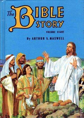 Bible Story HC (By Arthur S. Maxwell) #8-1ST 1956 VF Stock Image
