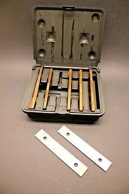 "12 pc 1/8"" x 6"" Machinists Precision Parallel Set 6 Pairs 1/2"" - 1-5/8"" Tall"