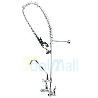 "Commercial Kitchen Restaurant Pre-Rinse Faucet w/ 12"" Add-On Faucet US STOCK"