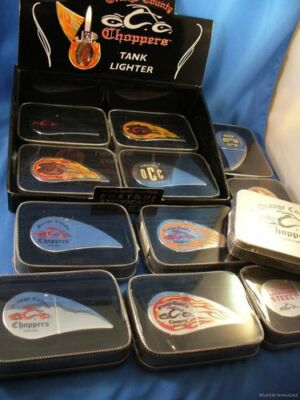 Wholesale Lot Of 12 Orange County Choppers Motorcycle Gas Tank Lighters New York