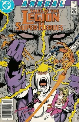 Legion of Super-Heroes (2nd Series) Annual #5 1987 VG 4.0 Stock Image Low Grade