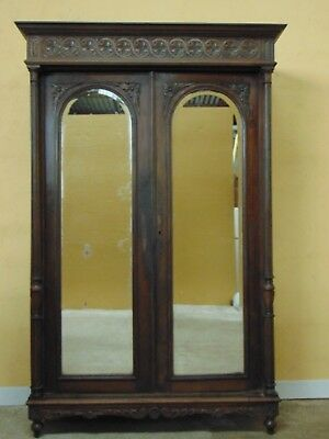 Armoire hand carved  Oak C1880