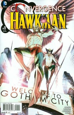 Convergence Hawkman (DC) 1A 2015 NM Stock Image