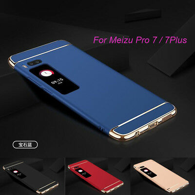 For Meizu Pro 7 7 Plus Luxury Ultra Thin Matte Electroplate Case Cover Protector