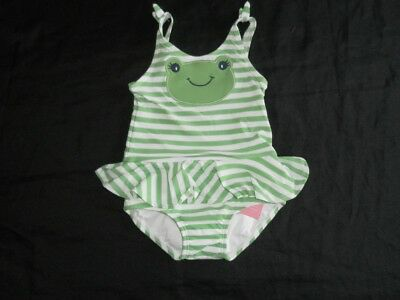 NWT Gymboree Skirted Ruffle Flower One-Piece Swimsuit Bow at Halter Neck 2T 5T