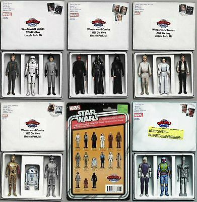Star Wars Set Of 6 Wonderworld Exclusive Action Figure Variants JTC PRE-SALE