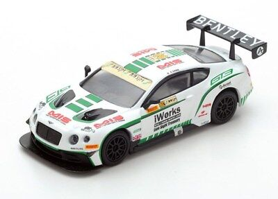 Spark 1:64 Bentley Continental GT3 - Macau GP FIA GT World Cup 2015 - Sawa