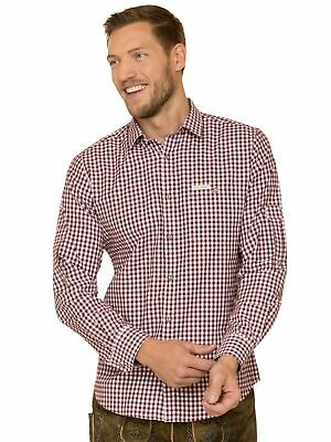 Stockerpoint Traditional Shirt Long Sleeve Comfort Fit Campos3 Burgundy