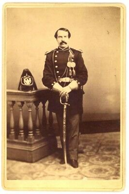 M1872 U.S. CAVALRY OFFICER - Lieut. Thomas Weir, 7th U.S. Cavalry?