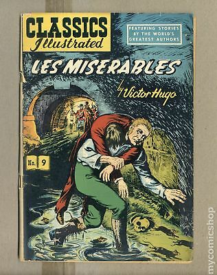 Classics Illustrated 009 Les Miserables #6 1963 GD+ 2.5
