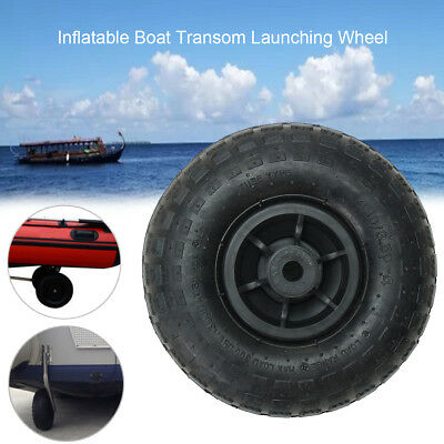 Inflatable Boat Transom Launching Wheel For Inflatable Dinghy Yacht Tender Rafts