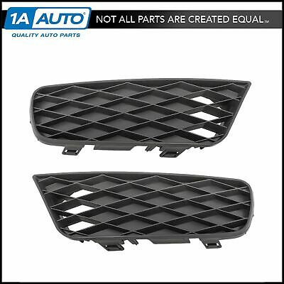 Front Outer Mesh Grille Fog Light Cover Pair LH /& RH Sides for Honda Civic Sedan