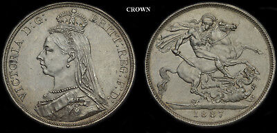 Queen Victoria 1887 Jubilee 7 Coin Silver Set......