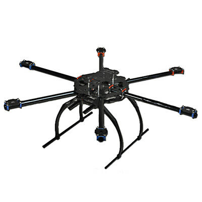 FOLDABLE 3K CARBON fiber RC Hexacopter Frame TL65B02 for Tarot Iron ...