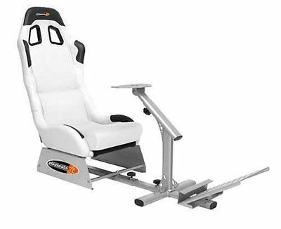 Playseats Evolution M Blanco/Plata PS3 PS2 XBOX360 Mac  PC Wii Nuevo + Embalaje