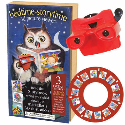 New Bedtime Storytime 3D Picture Viewer With Story Book 3 Bed Time Stories Hom