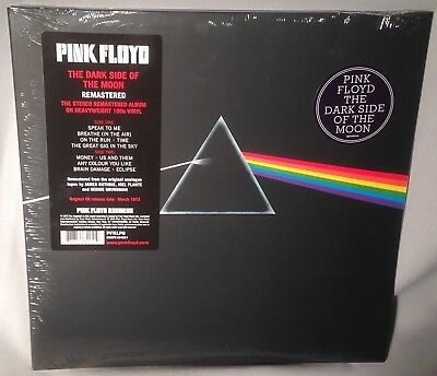 LP PINK FLOYD Dark Side of the Moon 180 gram 2016 NEW MINT SEALED