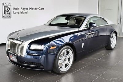 Rolls-Royce Wraith (Certified Pre-Owned) Extended Warranty - Silver Bonnet - Front Ventilated Seats - Contrast Stitching