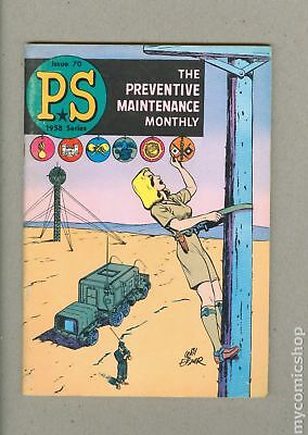 PS The Preventive Maintenance Monthly #70 1959 FN 6.0